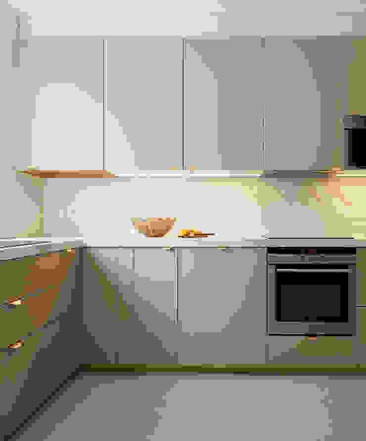 Lichelle Silvestry Interiors Cocinas de estilo moderno