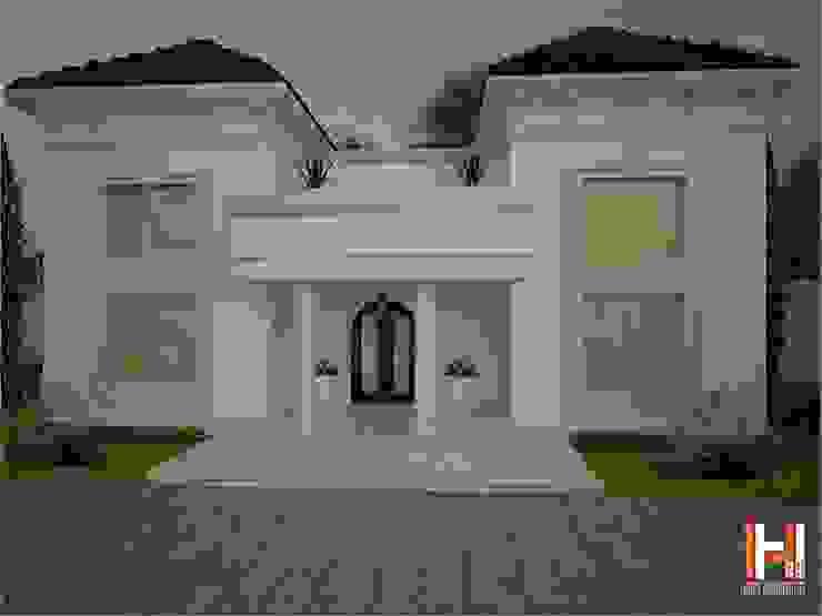 casa clasica Casas de estilo clásico de HHRG ARQUITECTOS Clásico