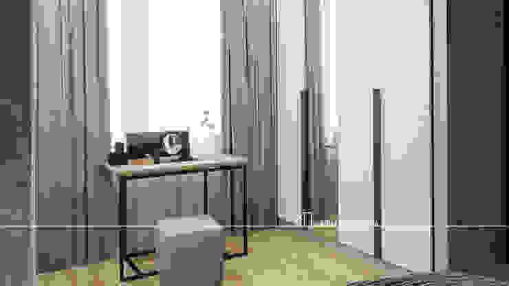 Интерьер квартиры 80 м.кв. Спальня в стиле лофт от Частный дизайнер Анна Прыгунова Лофт