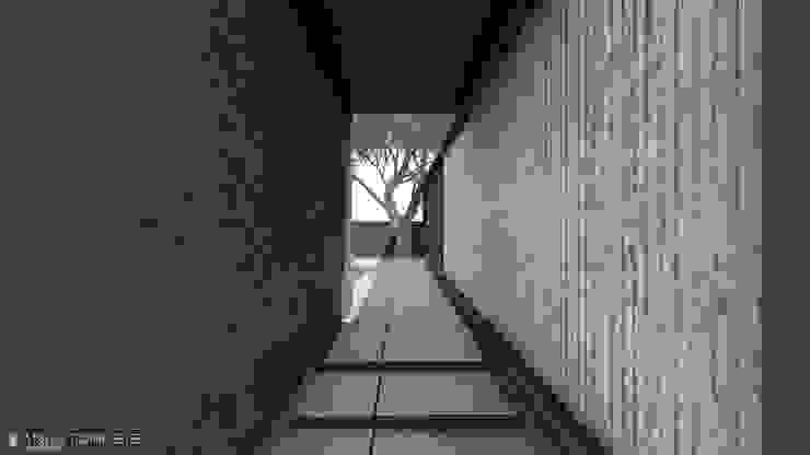 Koridor & Tangga Minimalis Oleh Anastomosis Design Lab Minimalis