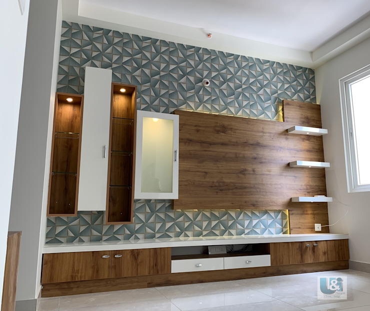 U and I Designs Salas de estilo moderno