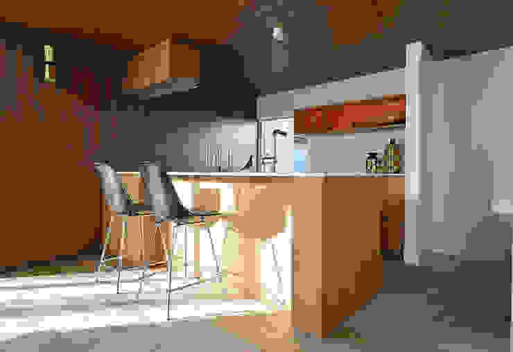Modern kitchen by NASU CLUB Modern Wood Wood effect