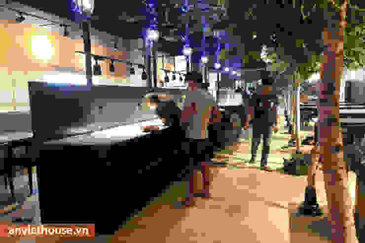 Thi công nội thất nhà hàng Hàn Quốc tại Big C Thăng Long: hiện đại  by An Viet Trading and Interior Service Joint Stock Company, Hiện đại