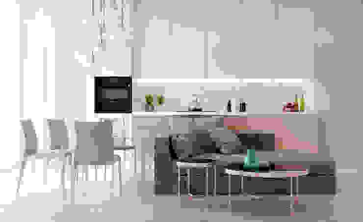 Salas de estilo minimalista de Александр Б Minimalista