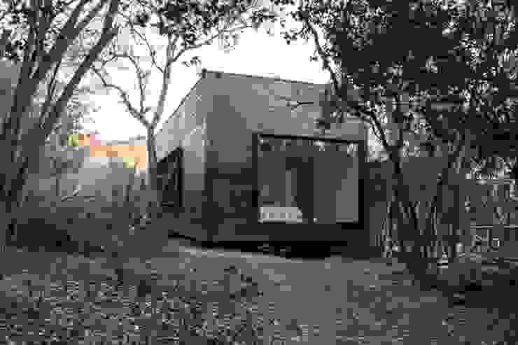 par MACIZO, ARQUITECTURA EN MADERA Moderne Bois Effet bois