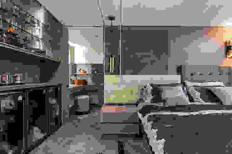主臥 根據 你你空間設計 現代風 塑木複合材料