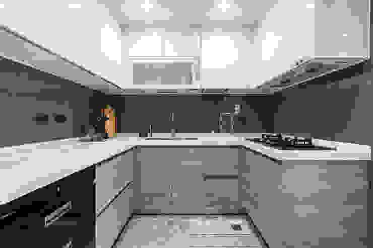 廚房 根據 你你空間設計 現代風 塑木複合材料