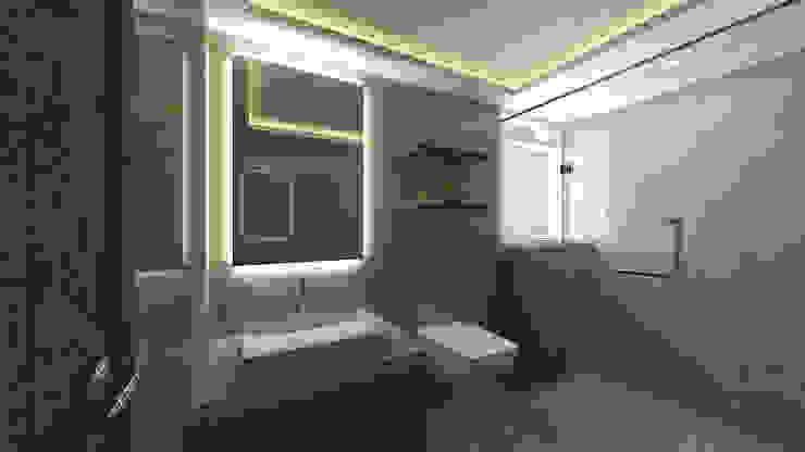 Master Bathroom SPACE DESIGN STUDIOS Modern bathroom