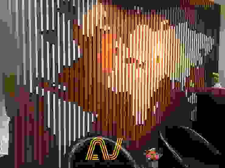 Thi công nội thất văn phòng trọn gói - nhãn hiệu Lasva, Sơn Tây, Hà Nội bởi An Viet Trading and Interior Service Joint Stock Company