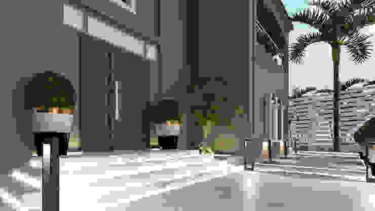 Villa entrance من Saif Mourad Creations حداثي