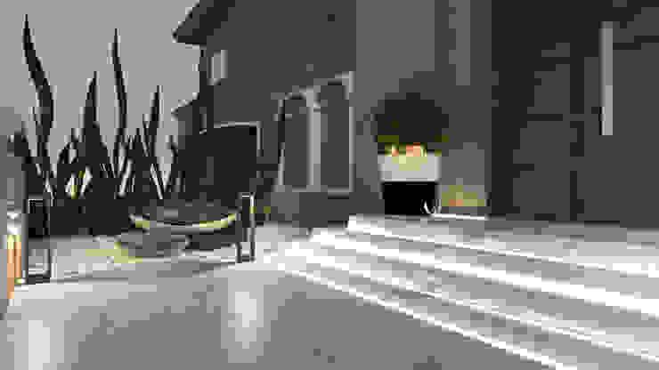 Front yard من Saif Mourad Creations حداثي