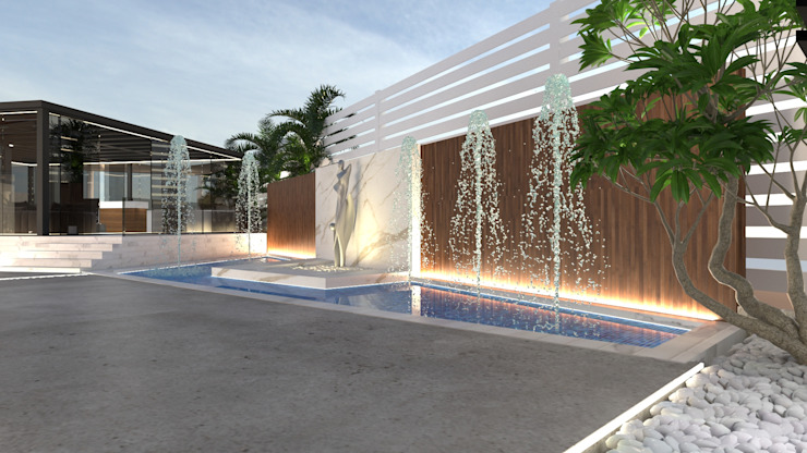 Water element من Saif Mourad Creations حداثي