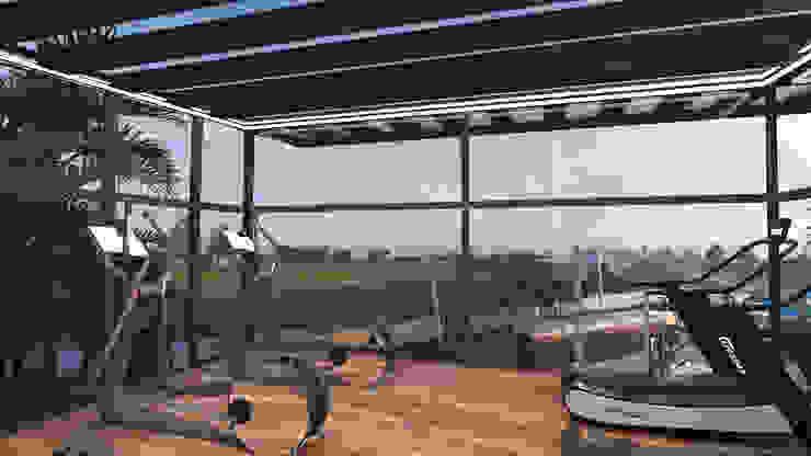 Outdoor gym من Saif Mourad Creations حداثي