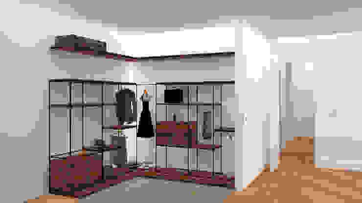 VESTIDOR Vestidores de estilo minimalista de arQmonia estudio, Arquitectos de interior, Asturias Minimalista