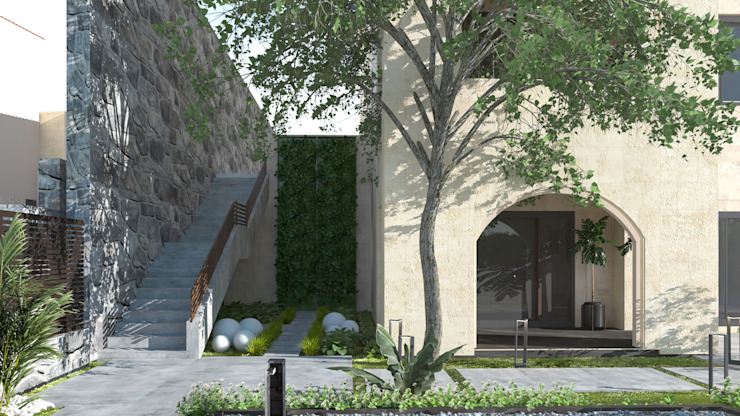 Landscape design |Terencia, Uptown Cairo من Saif Mourad Creations حداثي