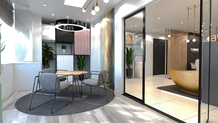 Showroom interior design | Korba, Heliopolis من Saif Mourad Creations حداثي
