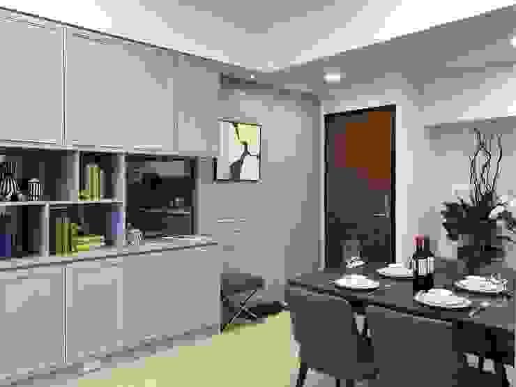 雅群空間設計 Salones de estilo clásico