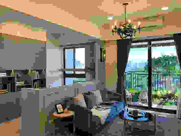 Salas de estar clássicas por 雅群空間設計 Clássico