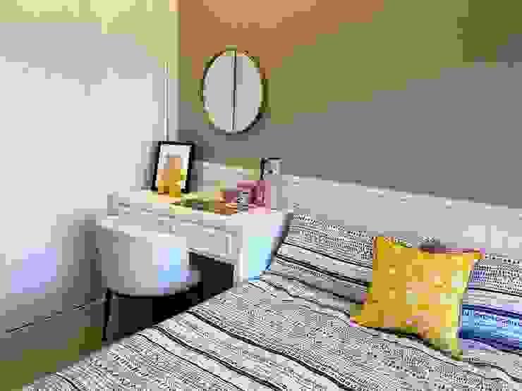 雅群空間設計 Dormitorios de estilo clásico