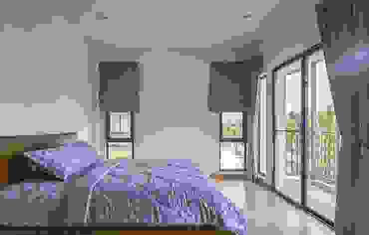 Rèm vải phòng ngủ: hiện đại  by Avinahome, Hiện đại Vải lanh / vải lanh Pink