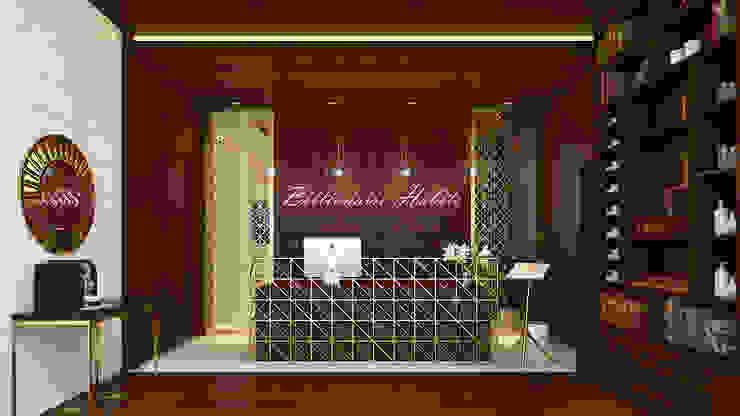 Billionaire Habits Ruang Komersial Klasik Oleh Antelope Studio Klasik Kayu Wood effect