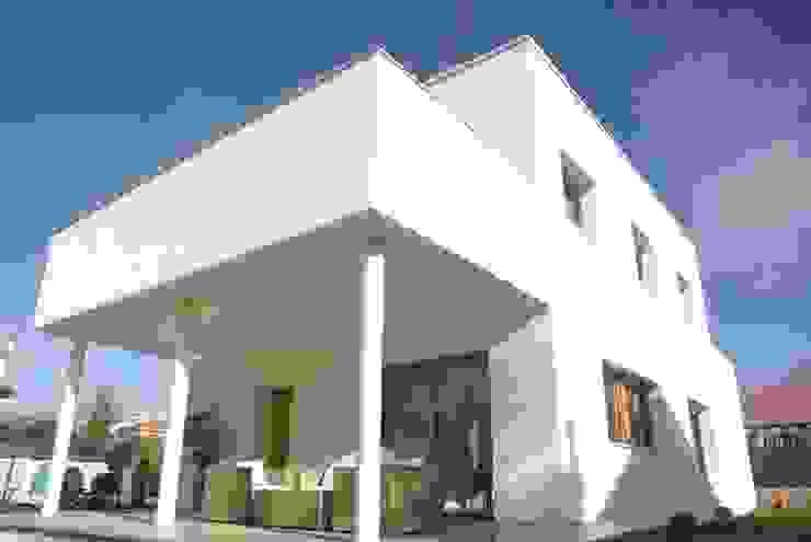 Vivienda Passivhaus Classic: Casas unifamilares de estilo  de Madridarquitectura proyectos pasivos s.l., Moderno