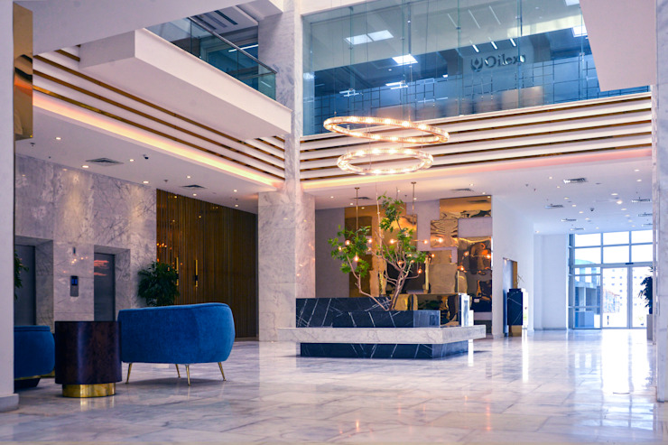 Office interior design | Almazah, Heliopolis من Saif Mourad Creations حداثي