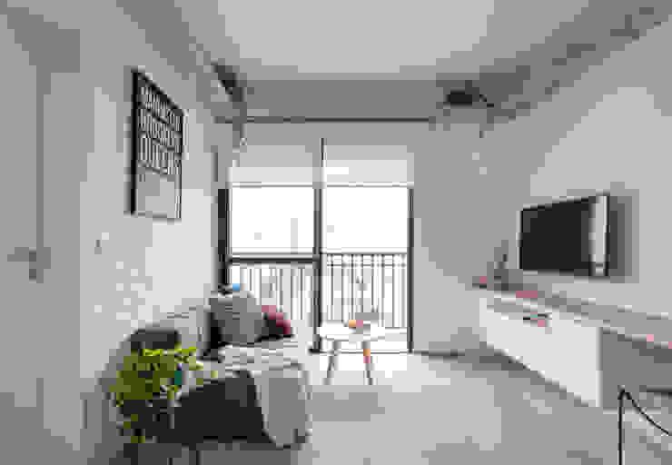 Apartamento GC Salas de estar modernas por Vic Calil Arquitetura Moderno