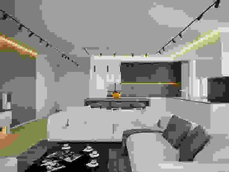 Salas de estilo minimalista de Stanislav Zhizhka Minimalista