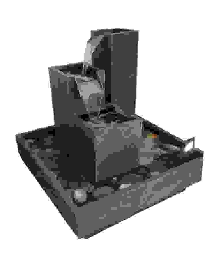 Fuente en escalas de Creart Acabados Moderno Piedra