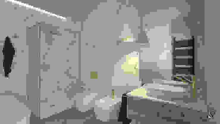 serenascaioli_progettidinterni Modern bathroom