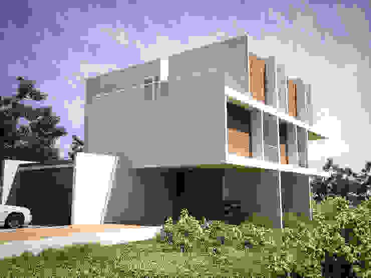 Bayern RRA Arquitectura Casas de campo Madera Blanco