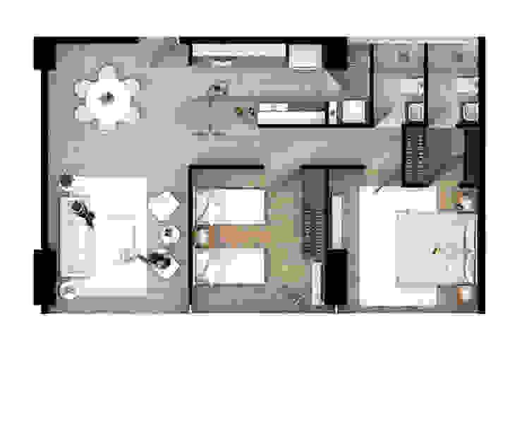 Depto 201 de AAVE Diseño y Construcción Moderno