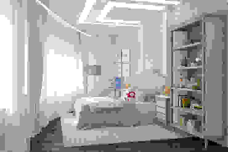 Квартира на Аксаковской: Детские комнаты в . Автор – Chloe Home, Классический