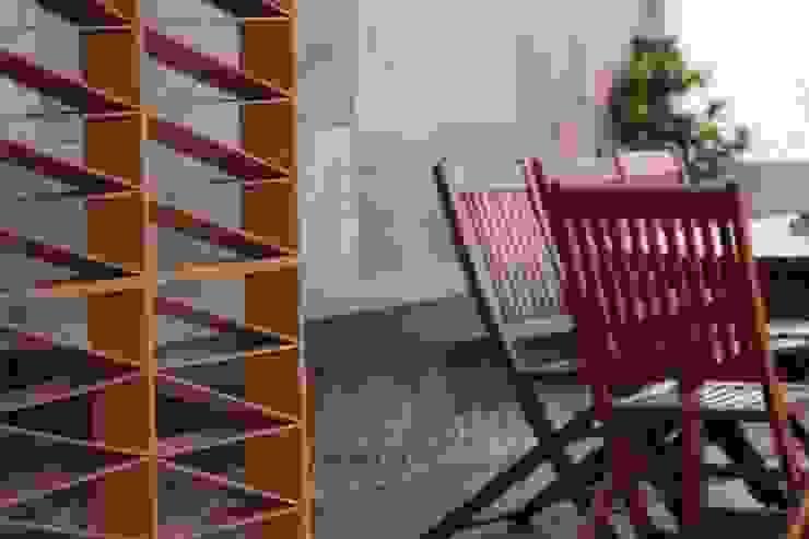 emARTquitectura Arte y Diseño Balkon Keramik Brown
