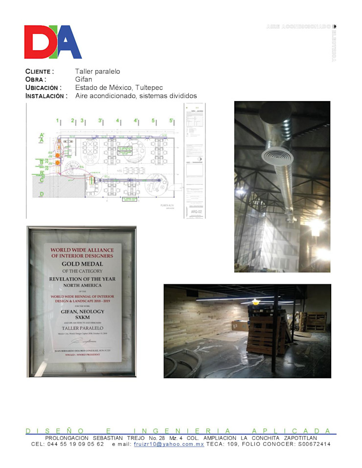 Fernando Manue Ruiz Rojas Modern style study/office