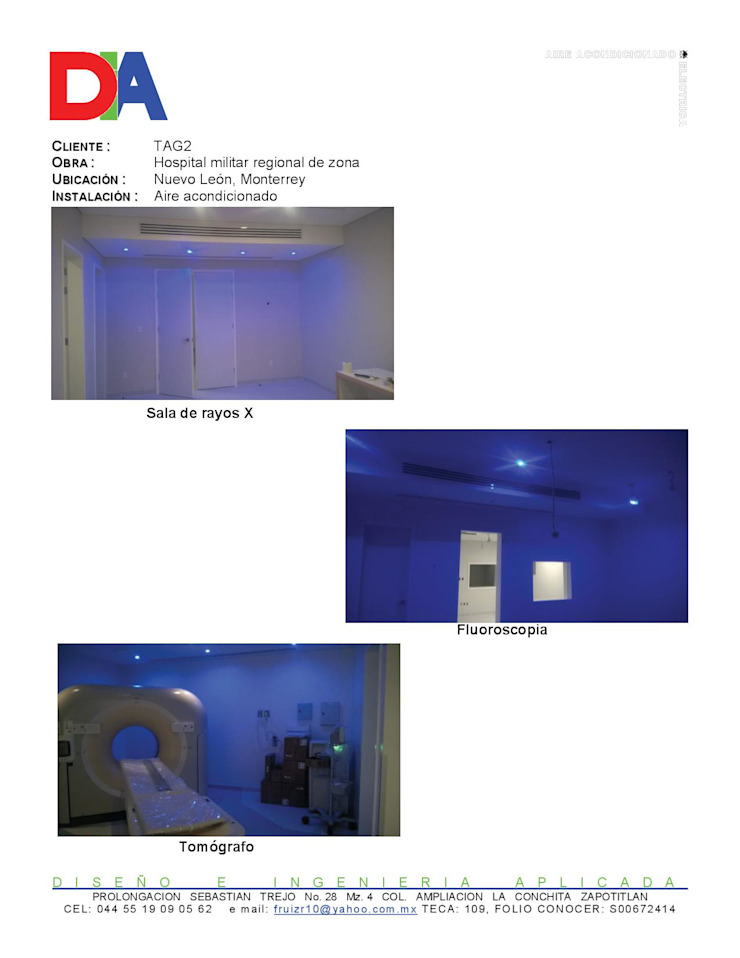 Fernando Manue Ruiz Rojas Ruang Studi/Kantor Modern