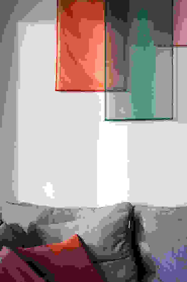 Fabric Panel Art Installation Modern living room by S.Lo Studio Modern
