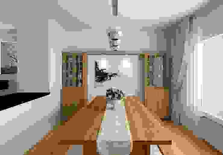 PRATIKIZ MIMARLIK/ ARCHITECTURE – Yemek Masası: modern tarz , Modern