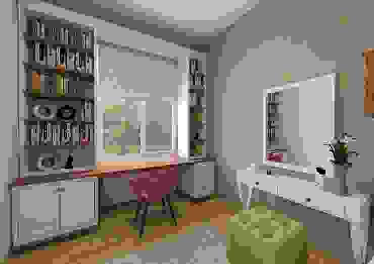 PRATIKIZ MIMARLIK/ ARCHITECTURE – Genç Odası: modern tarz , Modern