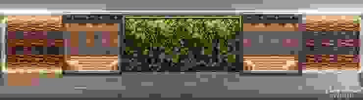 GENTILEZAS URBANAS PROJETOS PRIVADOS Escritórios modernos por Camila Pimenta | Arquitetura + Interiores Moderno Madeira Efeito de madeira
