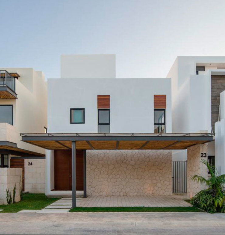 Casa Kuxtal AIM arquitectura inmobiliaria Casas modernas