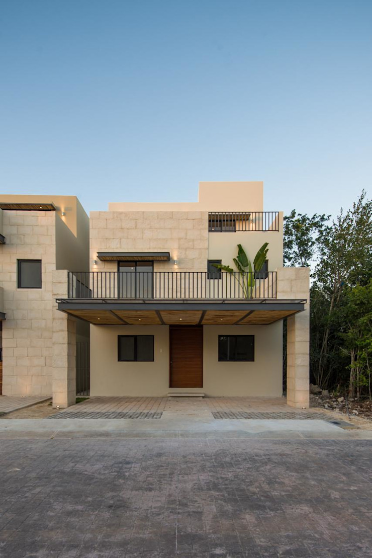 Casa Otoch AIM arquitectura inmobiliaria Casas modernas