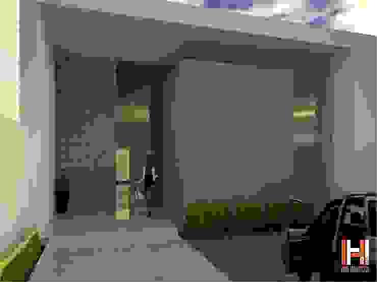 Maisons minimalistes par HHRG ARQUITECTOS Minimaliste