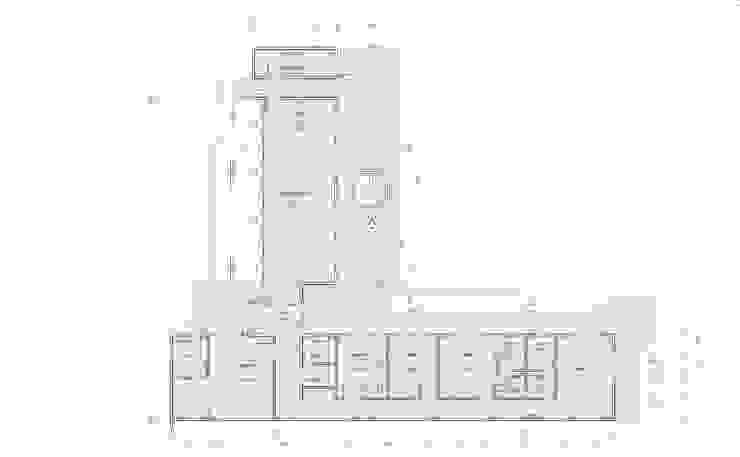 Planimetria del proyecto Casas de estilo mediterráneo de Casas del Girasol- arquitecto Viña del mar Valparaiso Santiago Mediterráneo