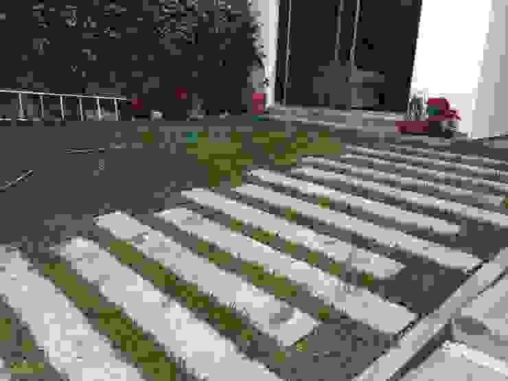Casa Calamar Jardines modernos de GARAY ARQUITECTOS Moderno