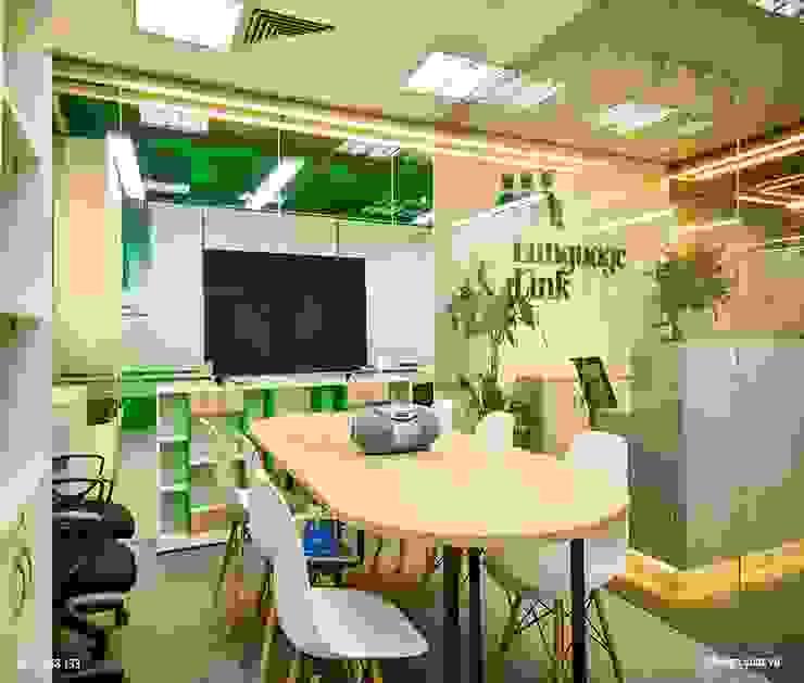 Phòng họp Phòng học/văn phòng phong cách hiện đại bởi SY DESIGN Hiện đại