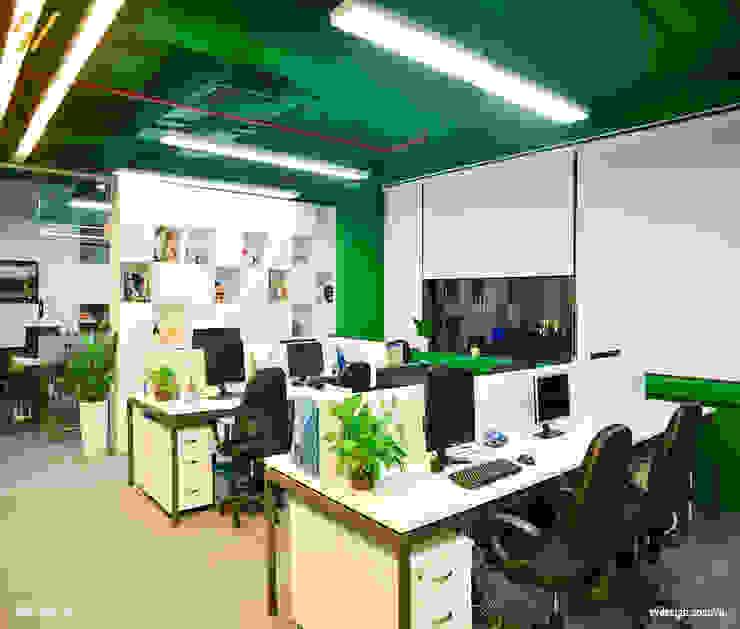 Phòng cho nhân viên Phòng học/văn phòng phong cách hiện đại bởi SY DESIGN Hiện đại