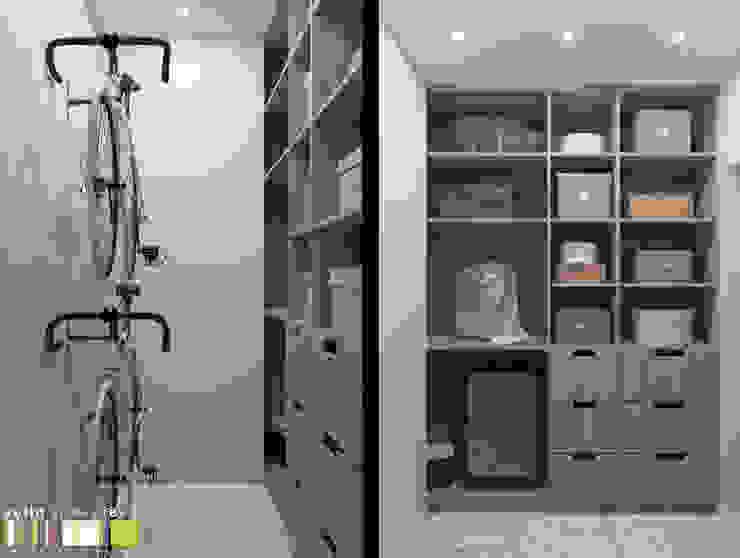 Closets por Мастерская интерьера Юлии Шевелевой Eclético