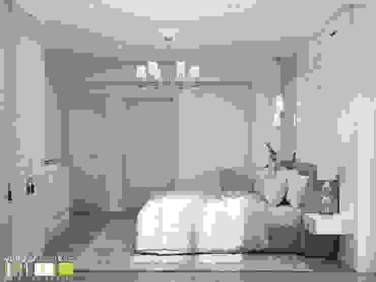 Habitaciones de estilo ecléctico de Мастерская интерьера Юлии Шевелевой Ecléctico